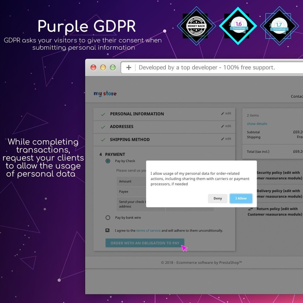 module - Marco Legal (Ley Europea) - Purple GDPR - 10