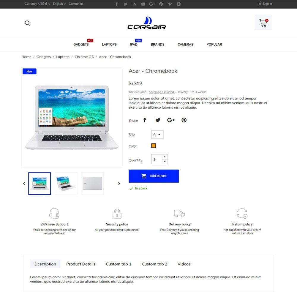 theme - Electronics & Computers - Corsair - High-tech Shop - 5