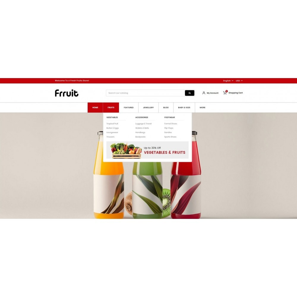 theme - Alimentation & Restauration - Fresh Fruits Store - 6