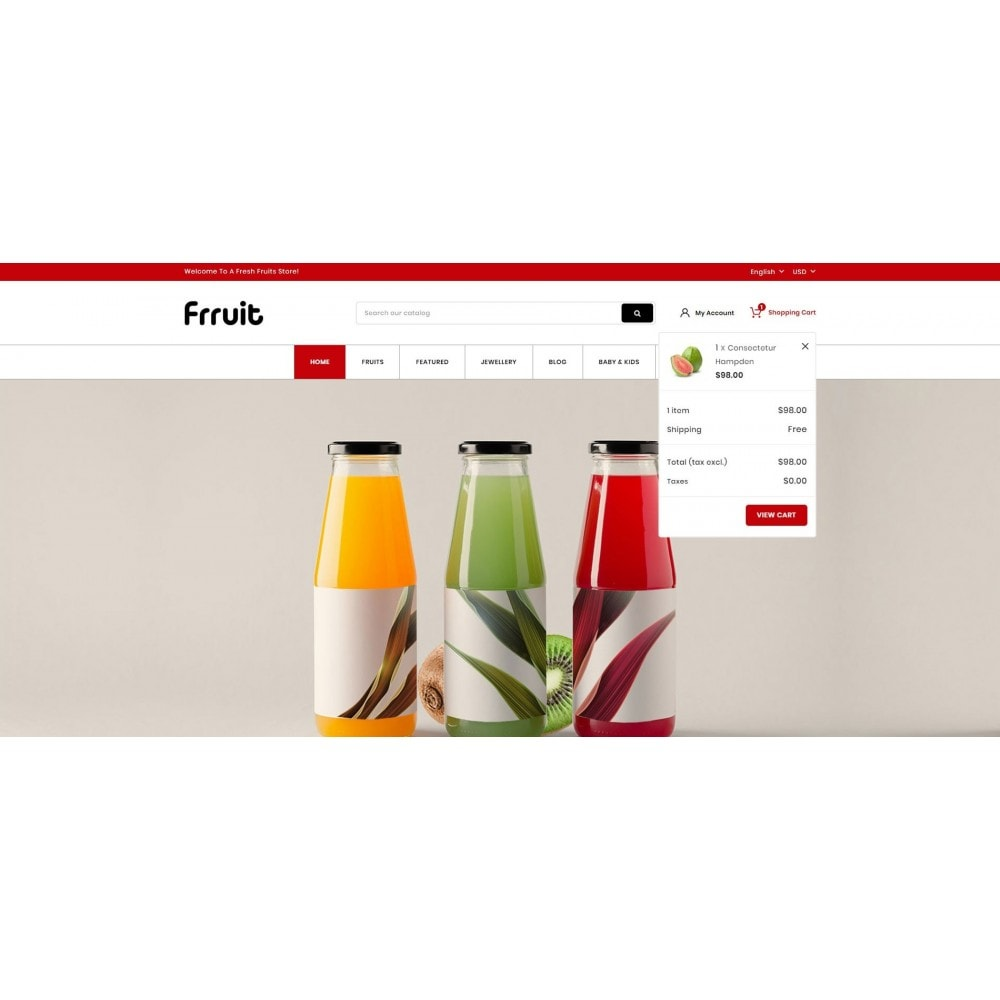 theme - Alimentation & Restauration - Fresh Fruits Store - 7