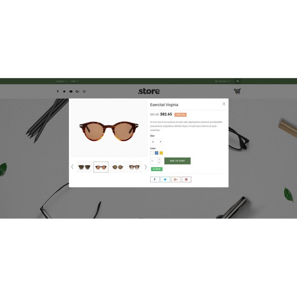 theme - Fashion & Shoes - Eye Glasses Store - 7