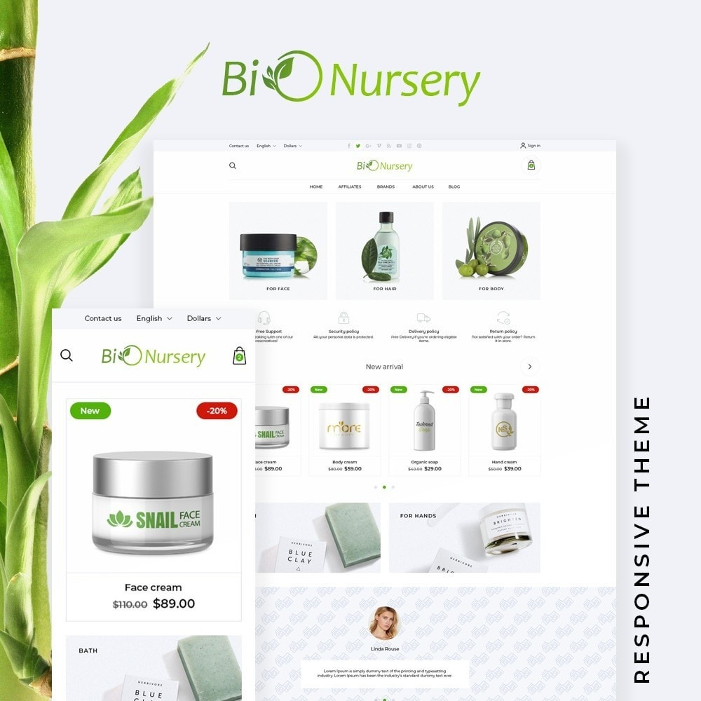 theme - Health & Beauty - BioNursery - 1