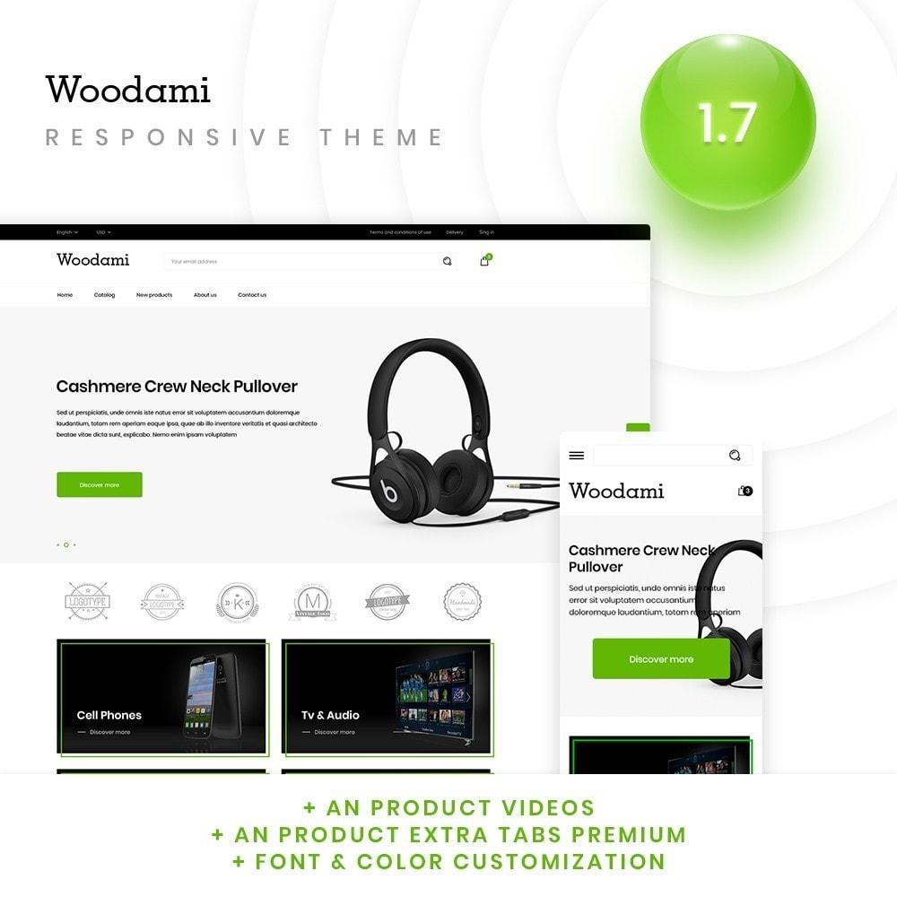 theme - Electronics & Computers - Woodami - High-tech Shop - 1