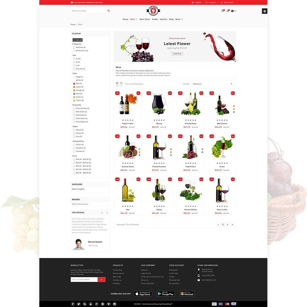 theme - Bebidas & Tabaco - Red Wine Natural Wine Shop - 4