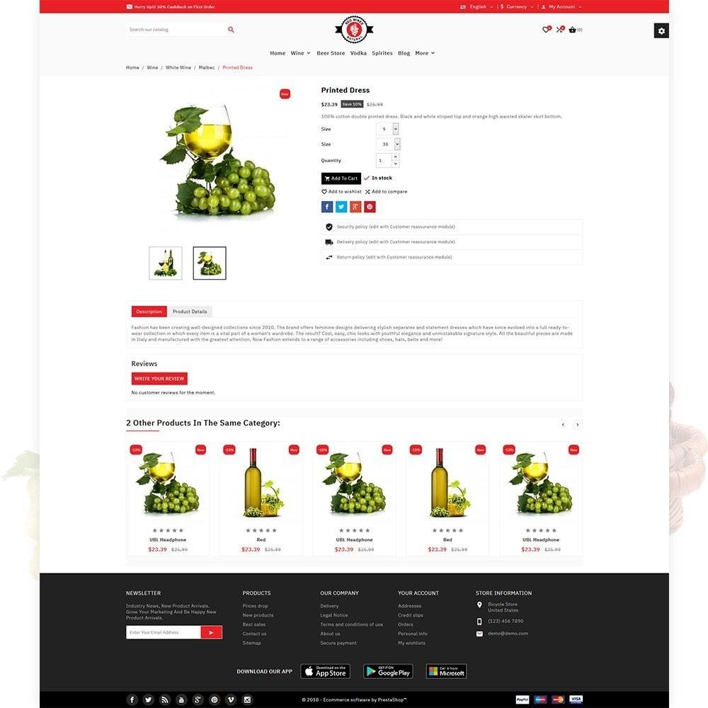 theme - Bebidas & Tabaco - Red Wine Natural Wine Shop - 6