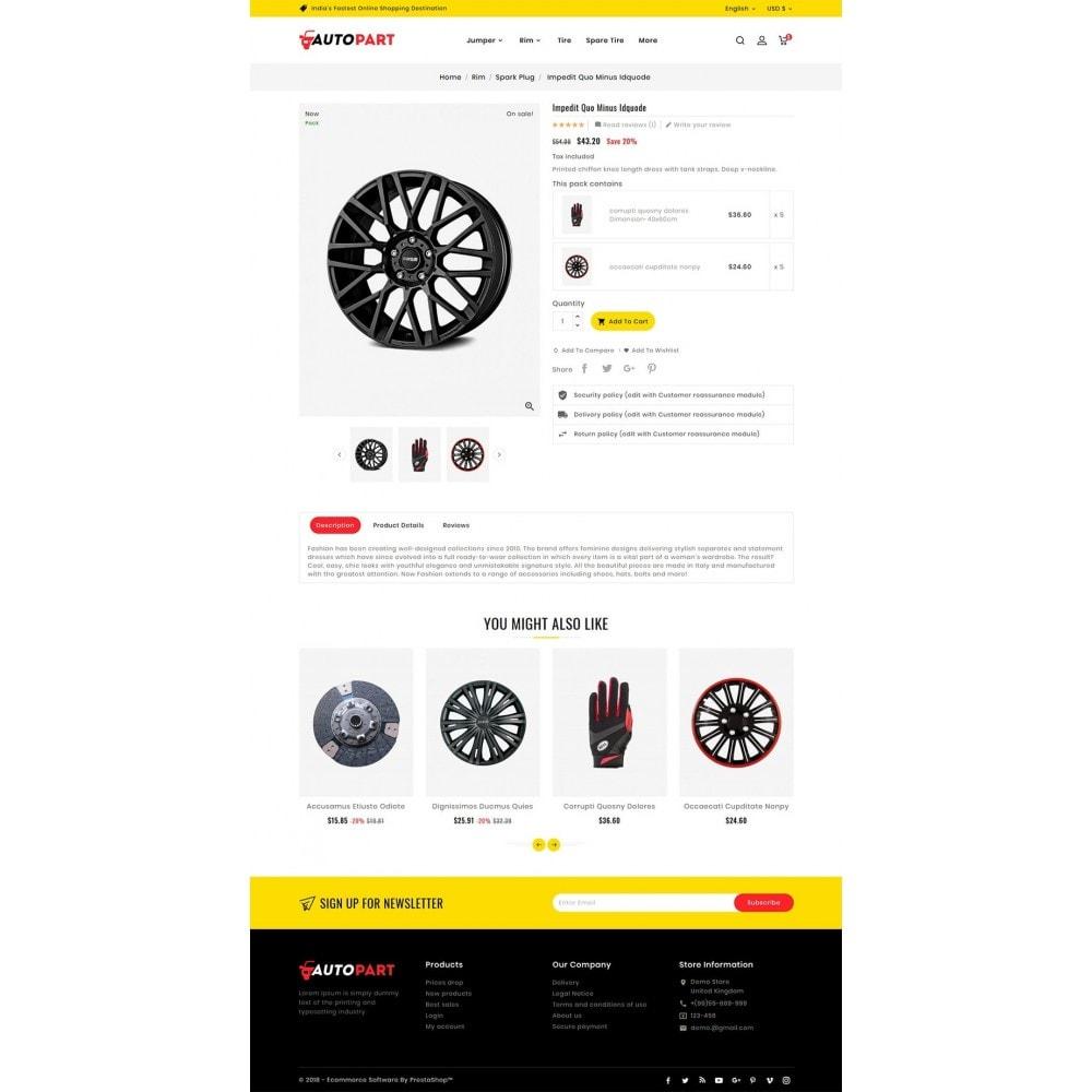 theme - Automotive & Cars - Auto Parts & Garage - 7