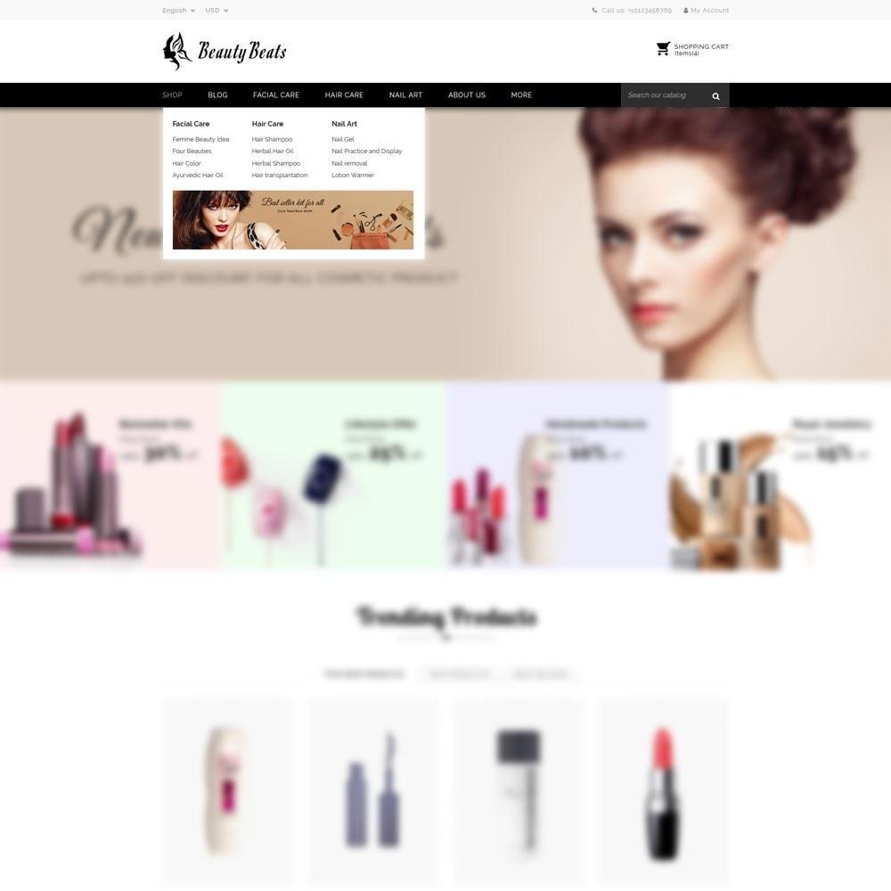theme - Saúde & Beleza - Beauty Beats - The Beauty Shop - 8