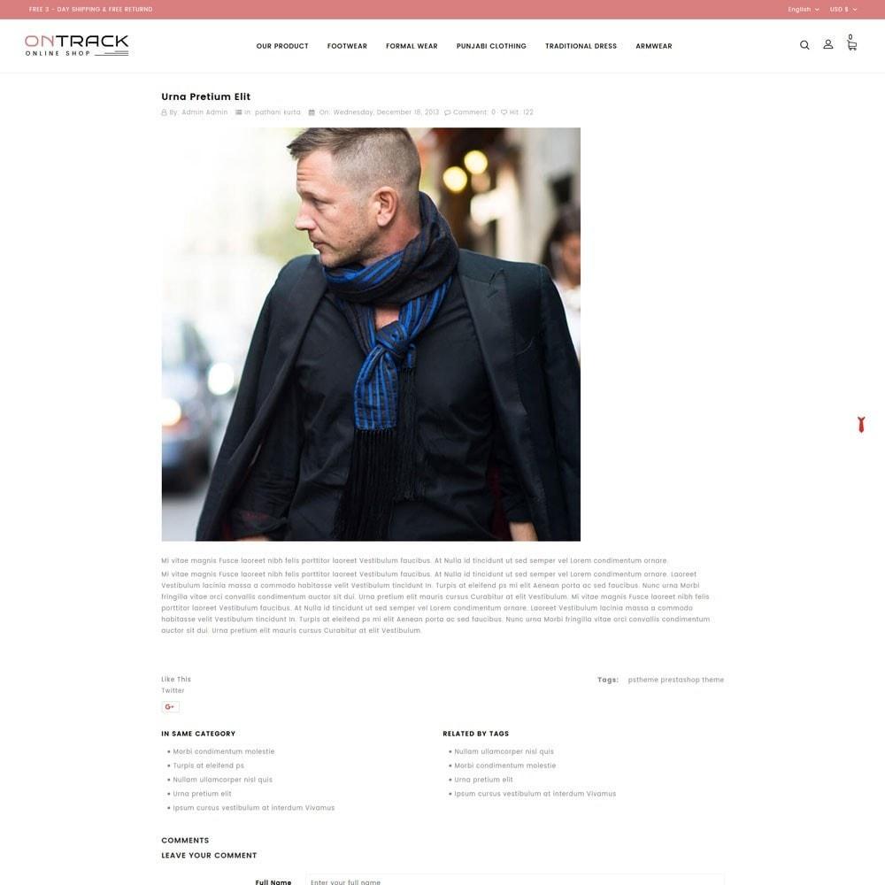 theme - Fashion & Shoes - OnTrackFashion - The fashion Hub - 7