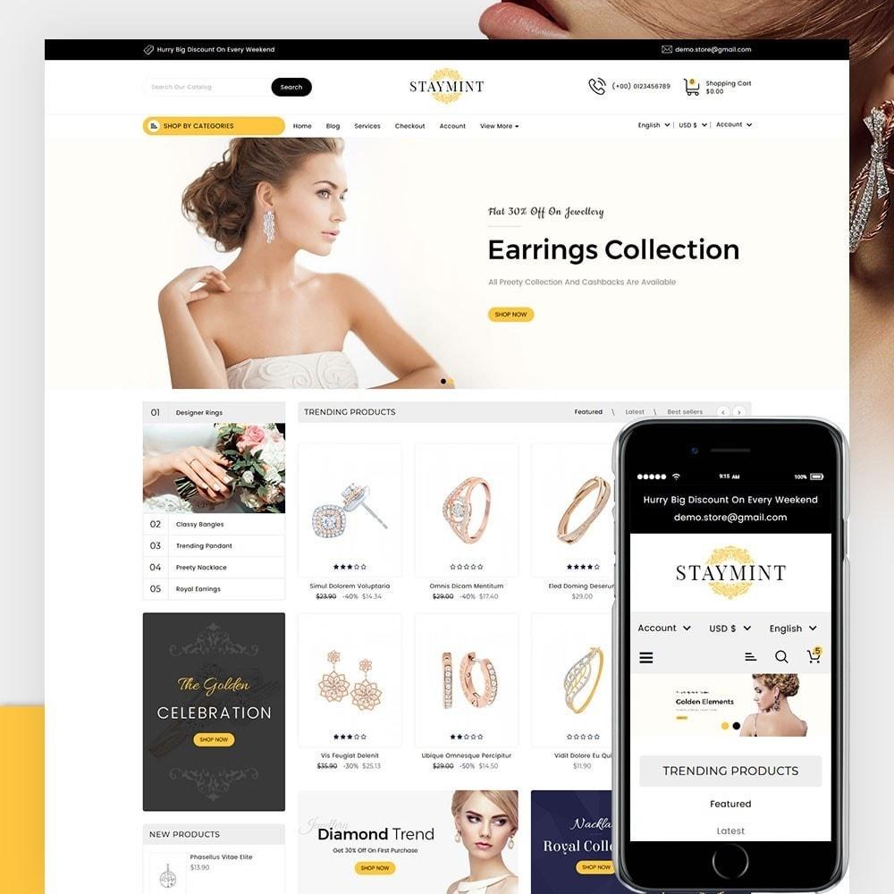 theme - Biżuteria & Akcesoria - Staymint Jewellery Store - 1