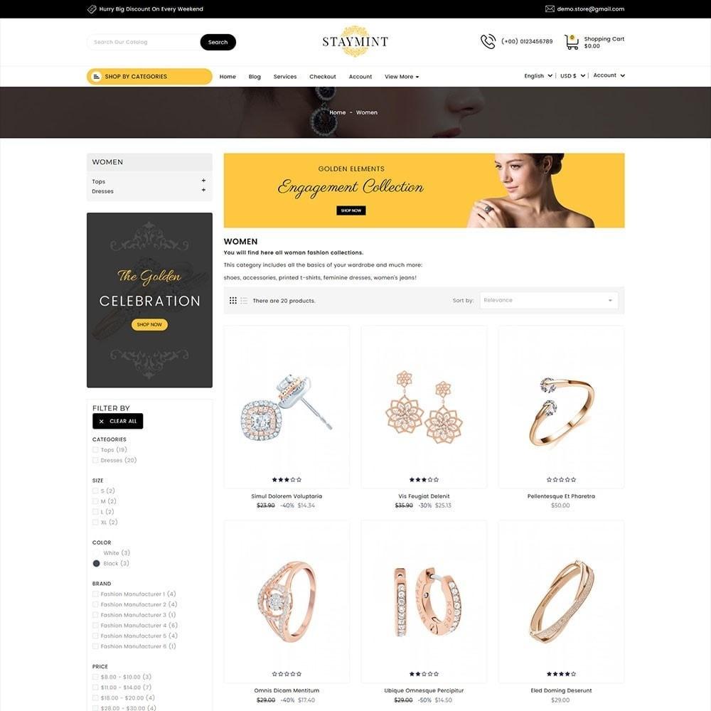 theme - Biżuteria & Akcesoria - Staymint Jewellery Store - 5