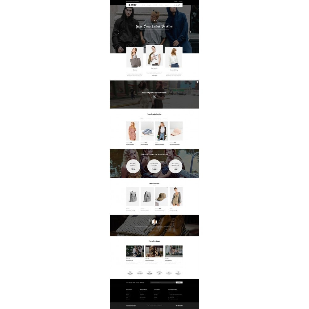 theme - Fashion & Shoes - Kanov - Fashion Store - 2