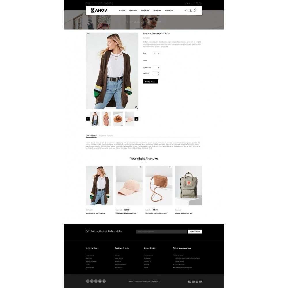 theme - Fashion & Shoes - Kanov - Fashion Store - 4