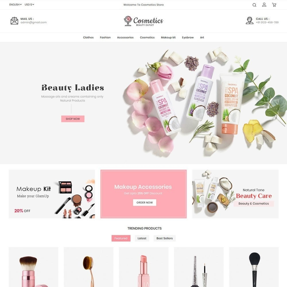 theme - Salute & Bellezza - Cosmetics beauty store - 2