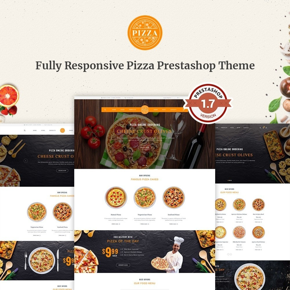 theme - Food & Restaurant - FastFood - 1
