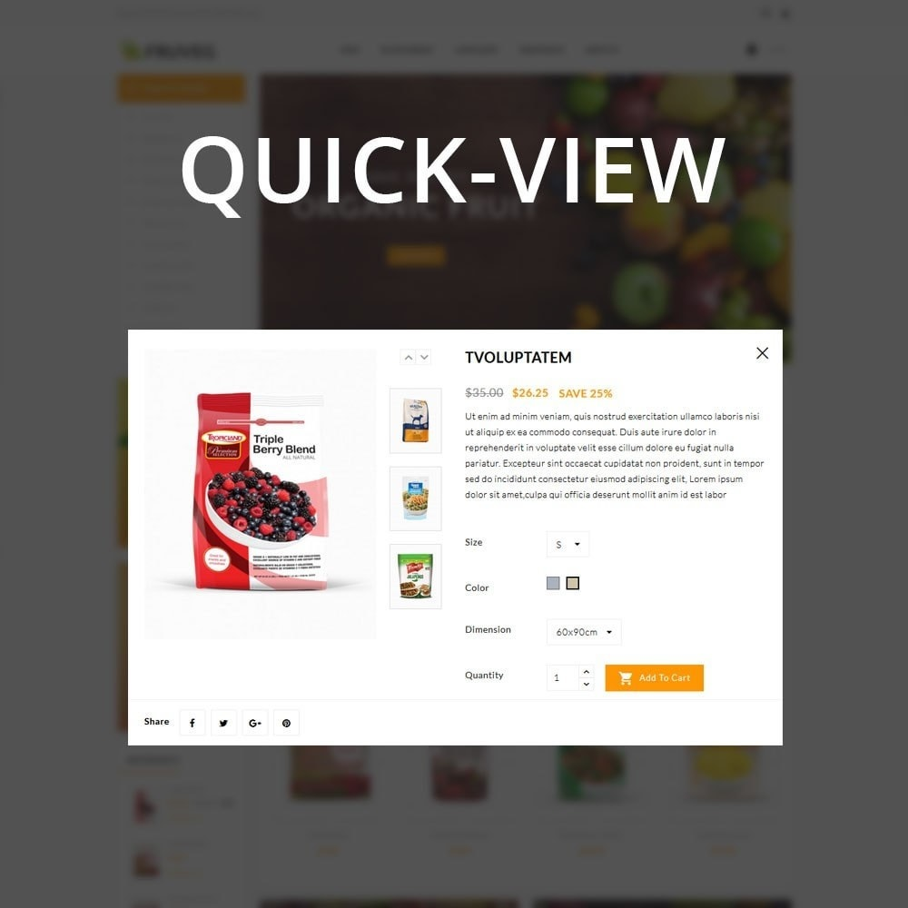 theme - Food & Restaurant - Fruveg - The Grocery Store - 12