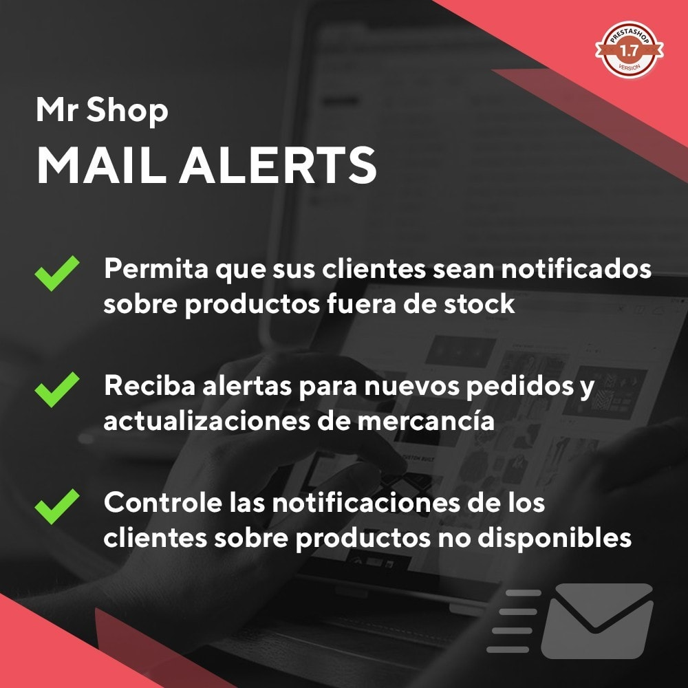 module - E-mails y Notificaciones - Mr Shop Mail Alerts - 1