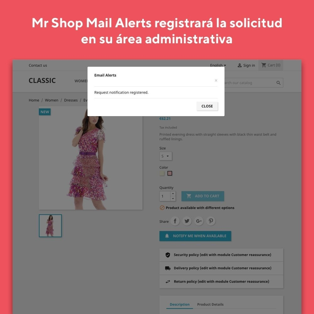 module - E-mails y Notificaciones - Mr Shop Mail Alerts - 4