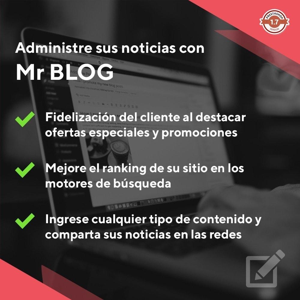 module - Blog, Foro y Noticias - Mr Blog - 1
