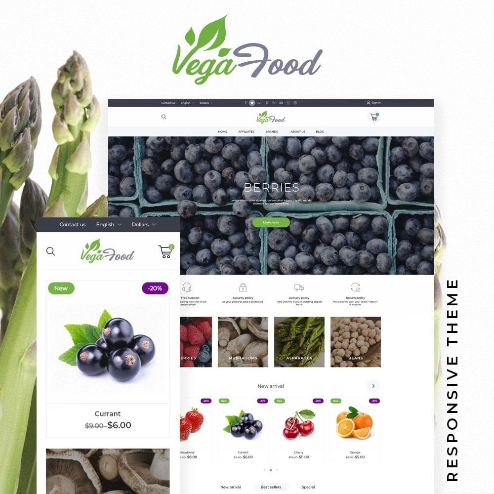 theme - Food & Restaurant - VegaFood - 1