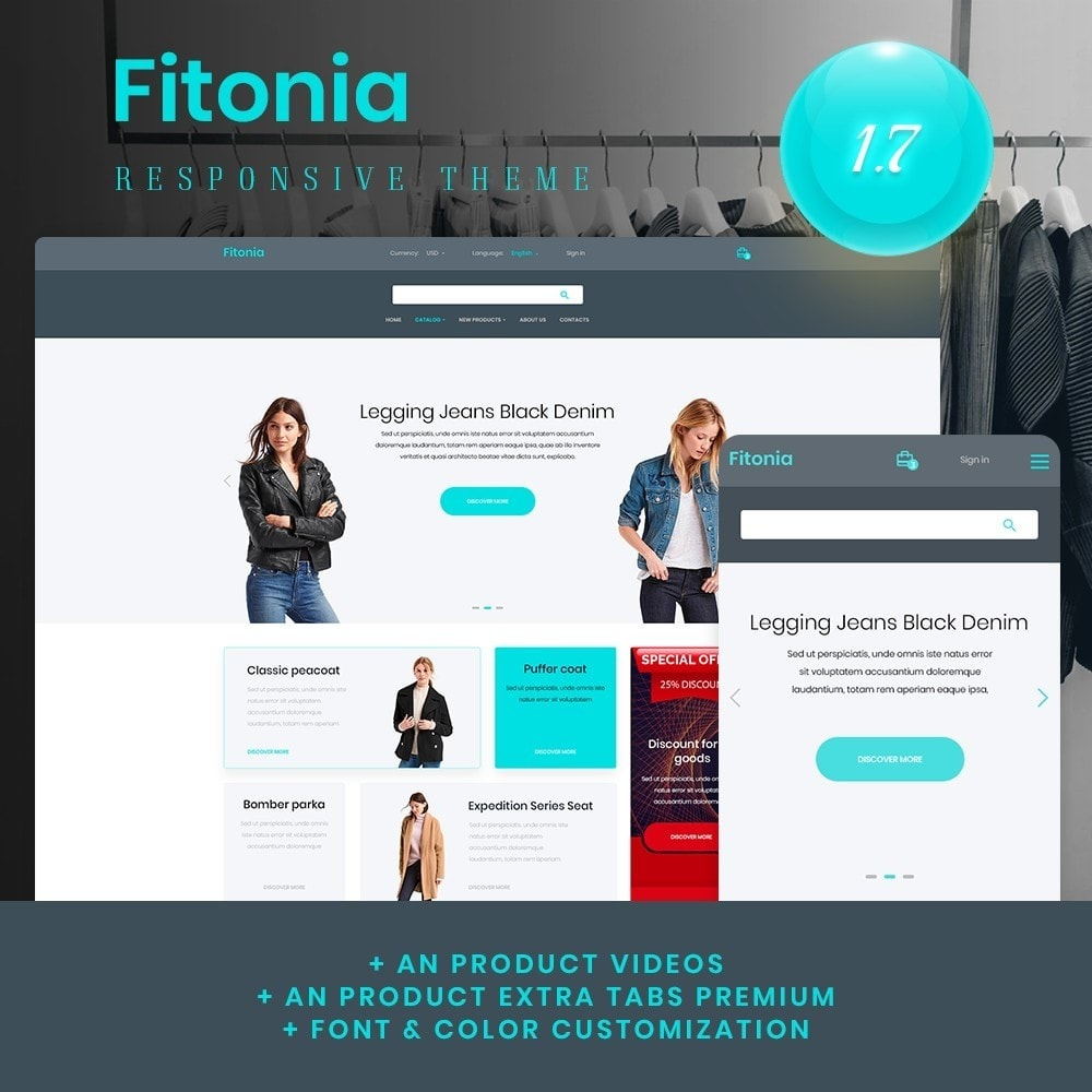 theme - Fashion & Shoes - Fitonia Fashion Store - 1