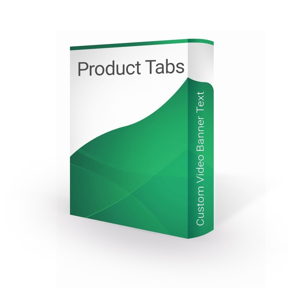 module - Additional Information & Product Tab - Product Tabs Extra Custom Video Banner Text - 1