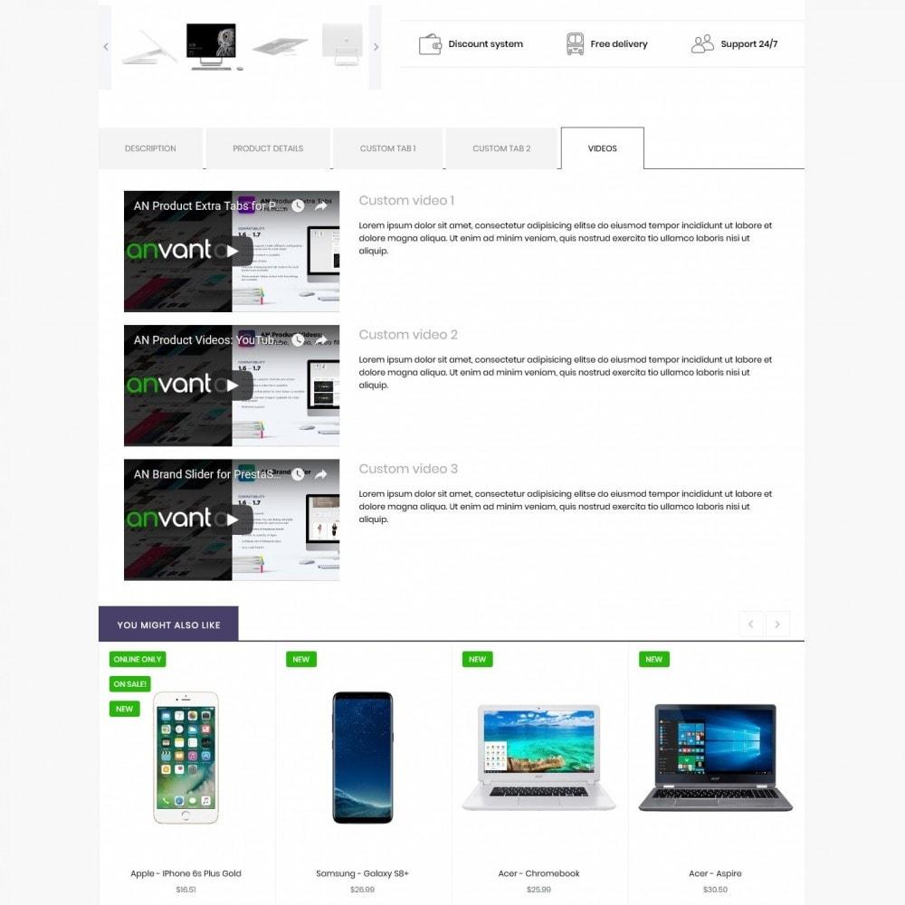 theme - Electronics & Computers - Faeton - High-tech Shop - 9