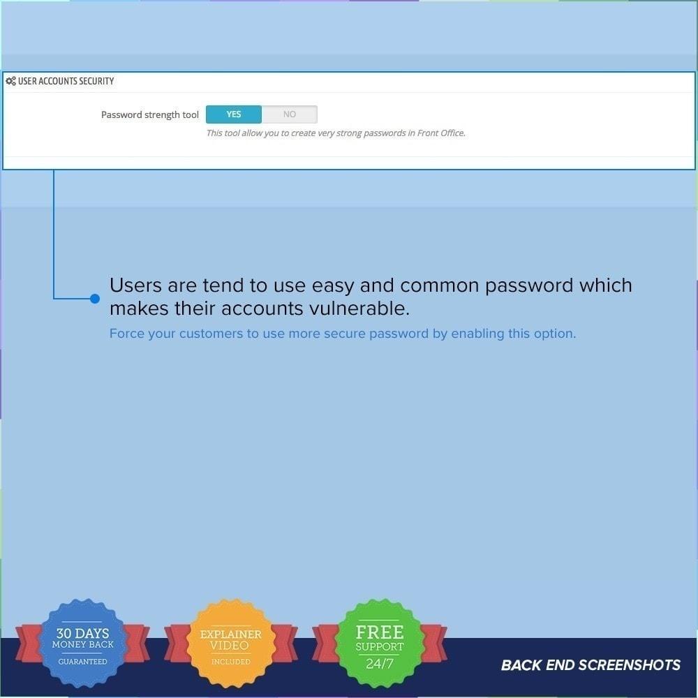 module - Seguridad y Accesos - Protector de Tienda PRO / Anti Fraude - 6