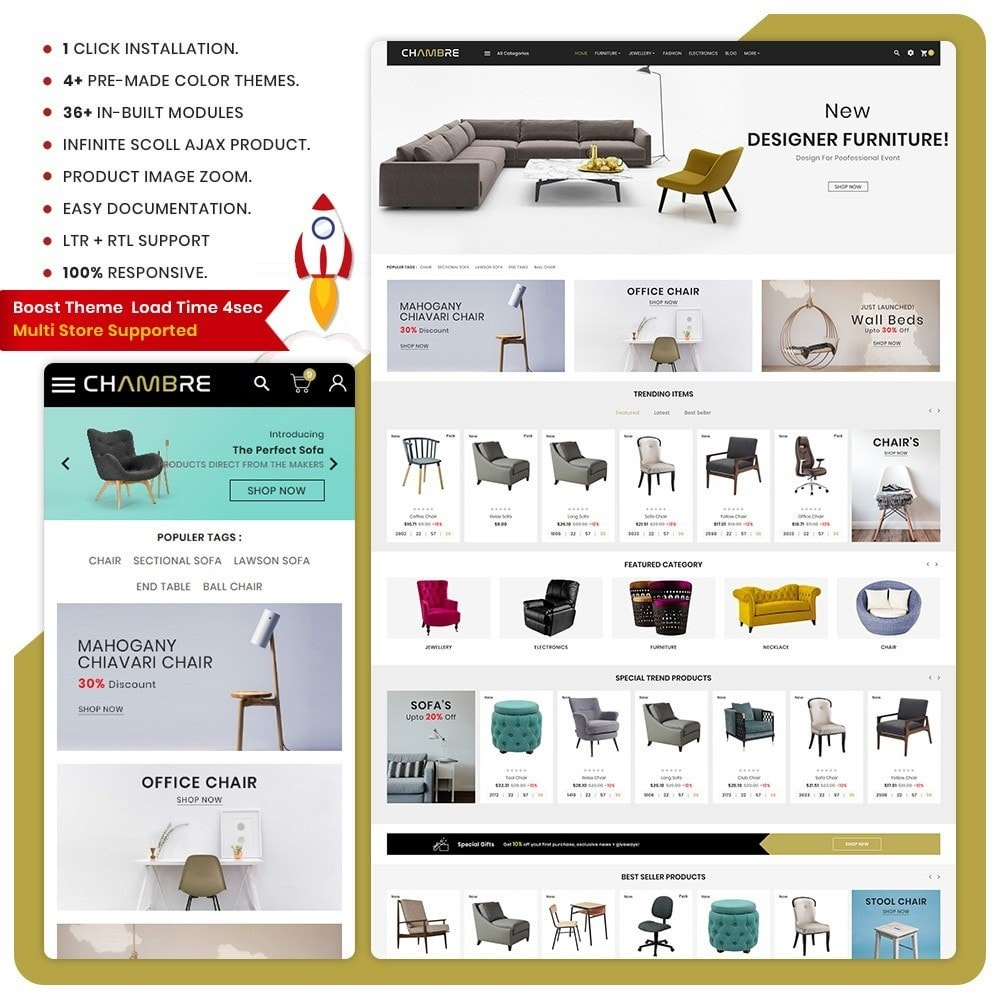 theme - Casa & Jardins - Mueble– Furniture Boots Large Shop - 1