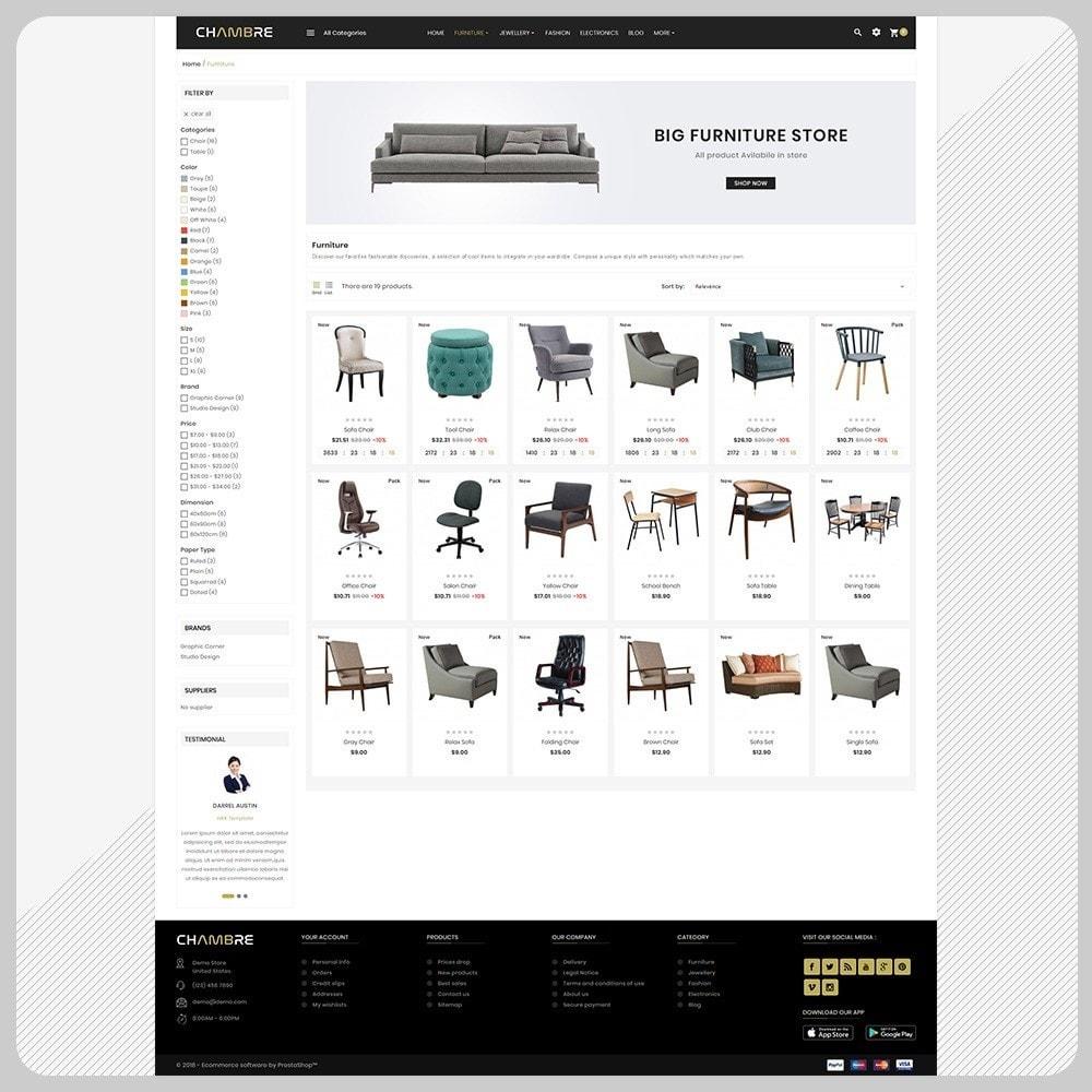 theme - Casa & Jardins - Mueble– Furniture Boots Large Shop - 3
