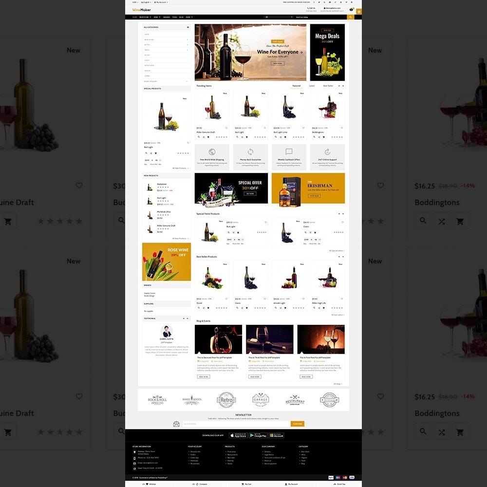 theme - Bebidas & Tabaco - Wine Maker – Wine Big Shop - 2