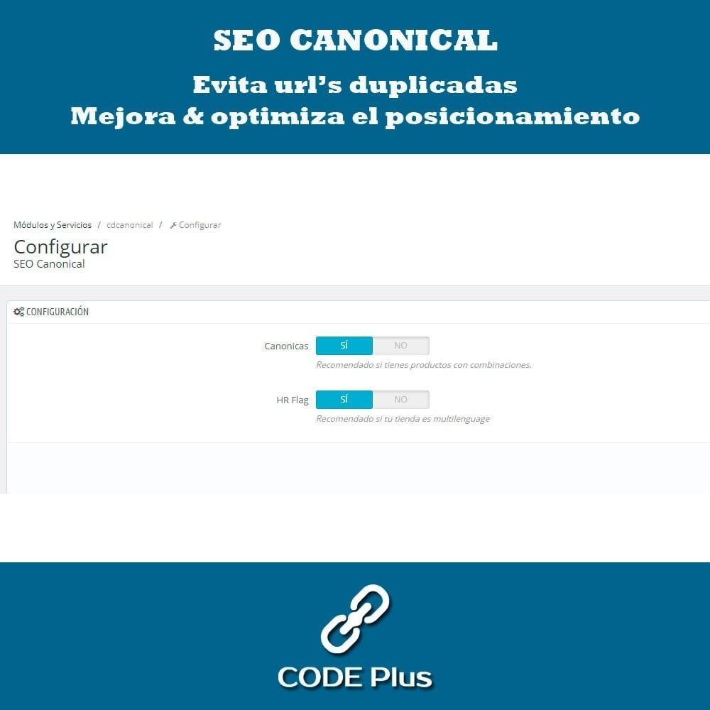 module - SEO (Posicionamiento en buscadores) - SEO Canonicas + Hre flang - 2