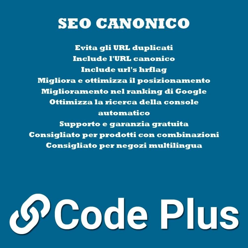 module - SEO (Indicizzazione naturale) - Canonicas SEO + Hre flang - 1
