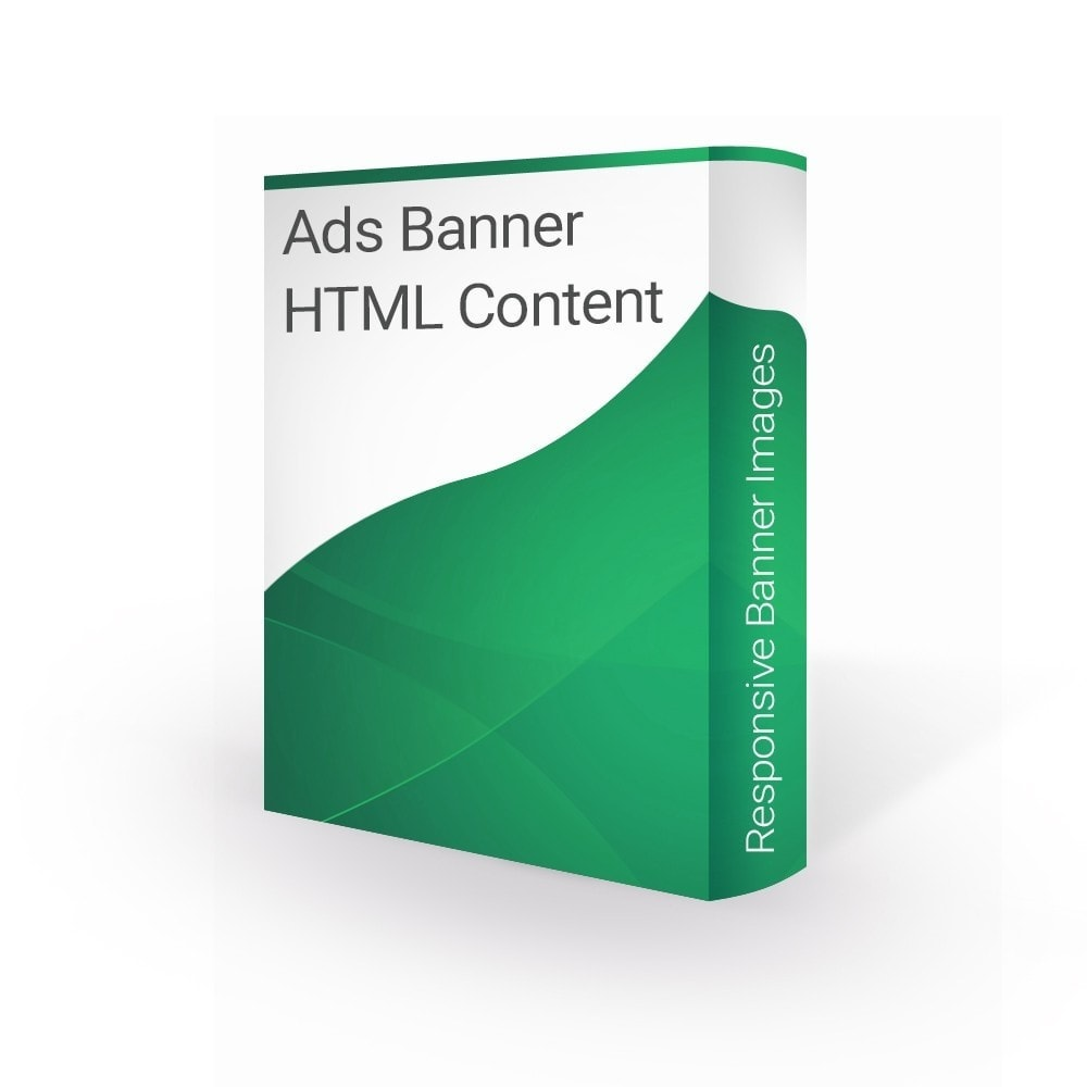 module - Blocchi, Schede & Banner - Ads Banner Images and HTML content - 1