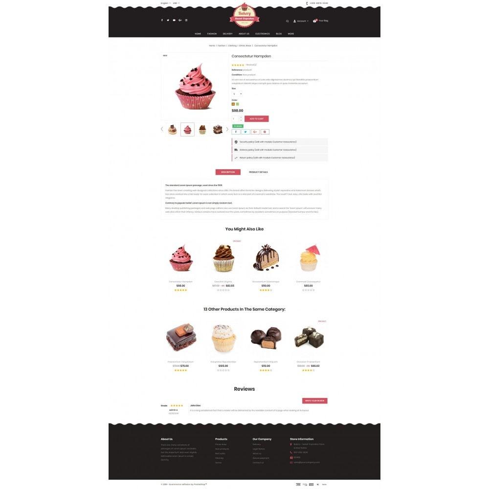 theme - Lebensmittel & Restaurants - Sweet Cupcakes Store - 5