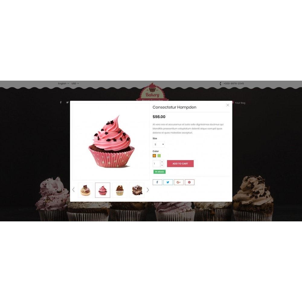 theme - Lebensmittel & Restaurants - Sweet Cupcakes Store - 8