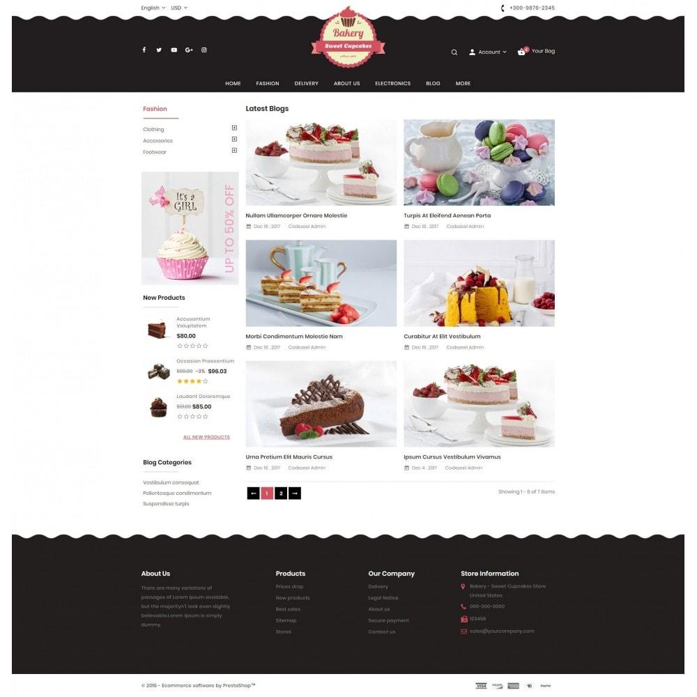 theme - Lebensmittel & Restaurants - Sweet Cupcakes Store - 9