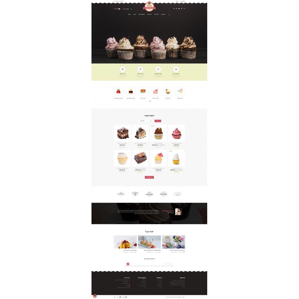 theme - Lebensmittel & Restaurants - Sweet Cupcakes Store - 10
