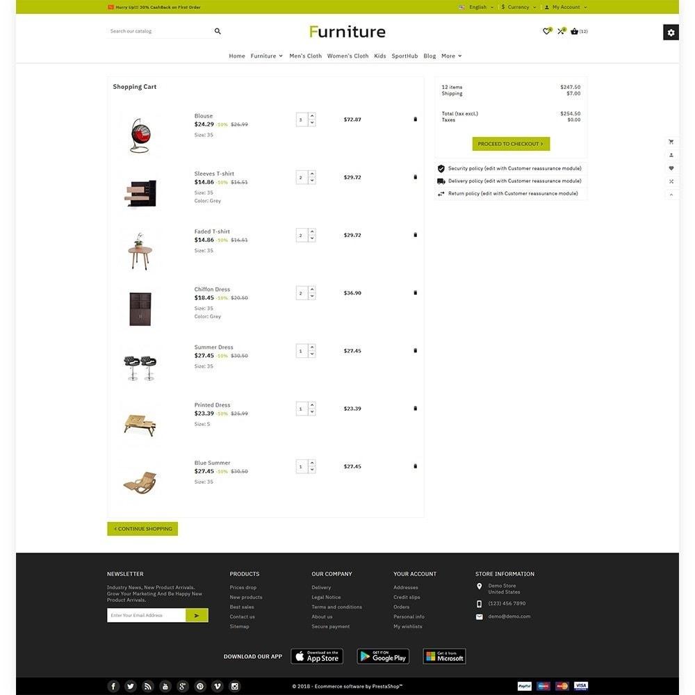 theme - Home & Garden - Furniture - Furniture Multi Store - 4