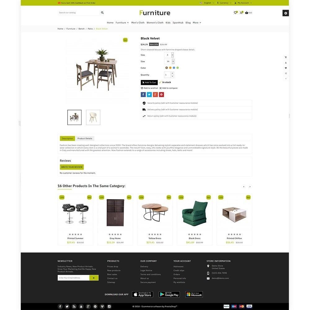 theme - Home & Garden - Furniture - Furniture Multi Store - 5
