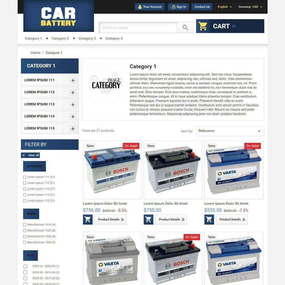 theme - Automotive & Cars - CarBattery - 2
