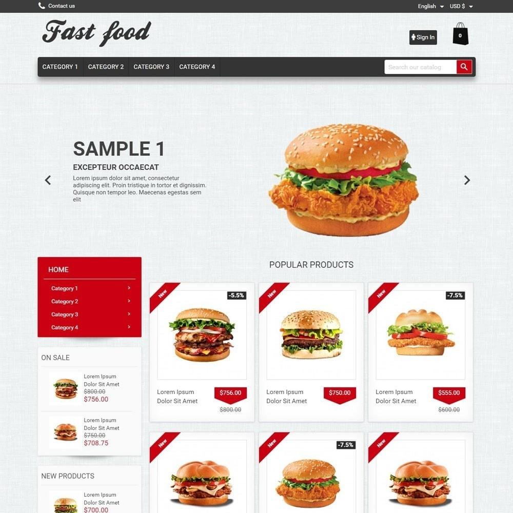 theme - Alimentos & Restaurantes - FastFood - 1