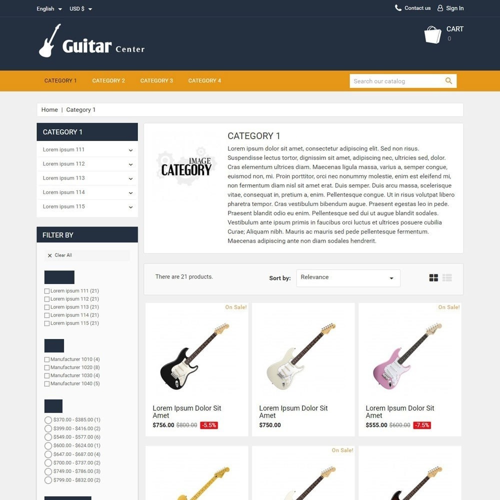 theme - Kultura & Sztuka - GuitarCenter - 2