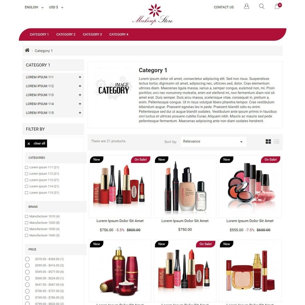theme - Mode & Chaussures - MakeupStore - 2