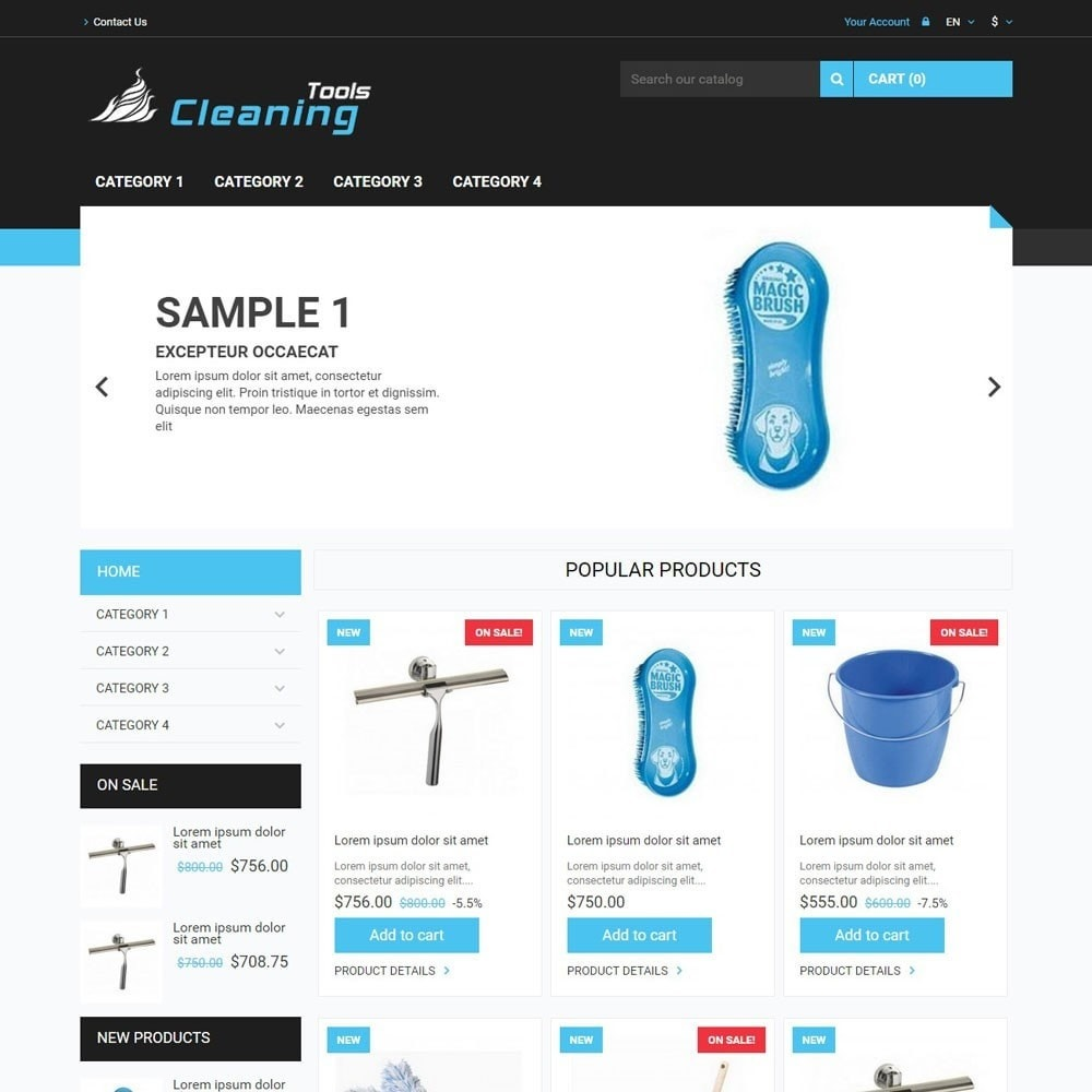 theme - Home & Garden - CleaningTools - 1