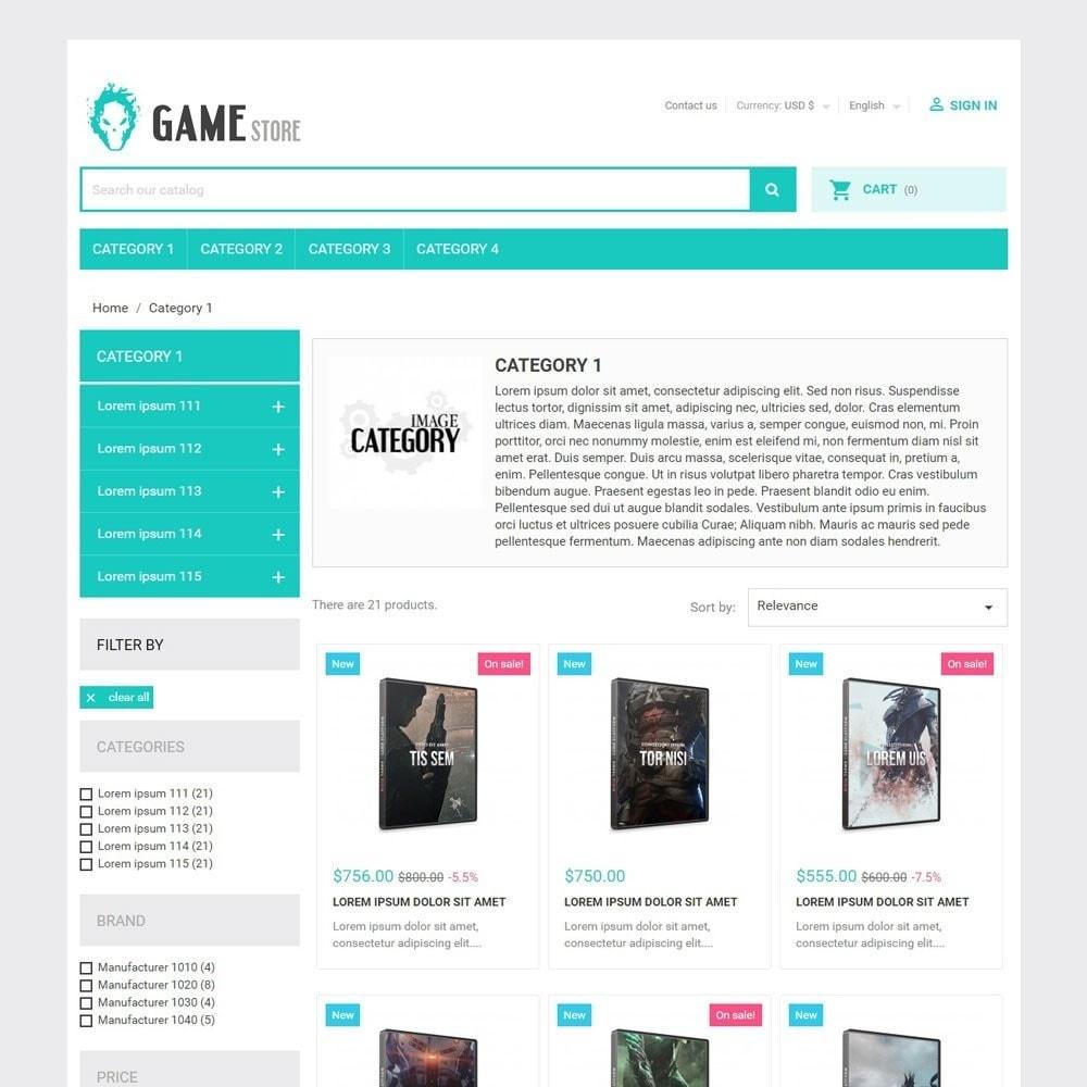 theme - Sport, Rozrywka & Podróże - GameStore - 2