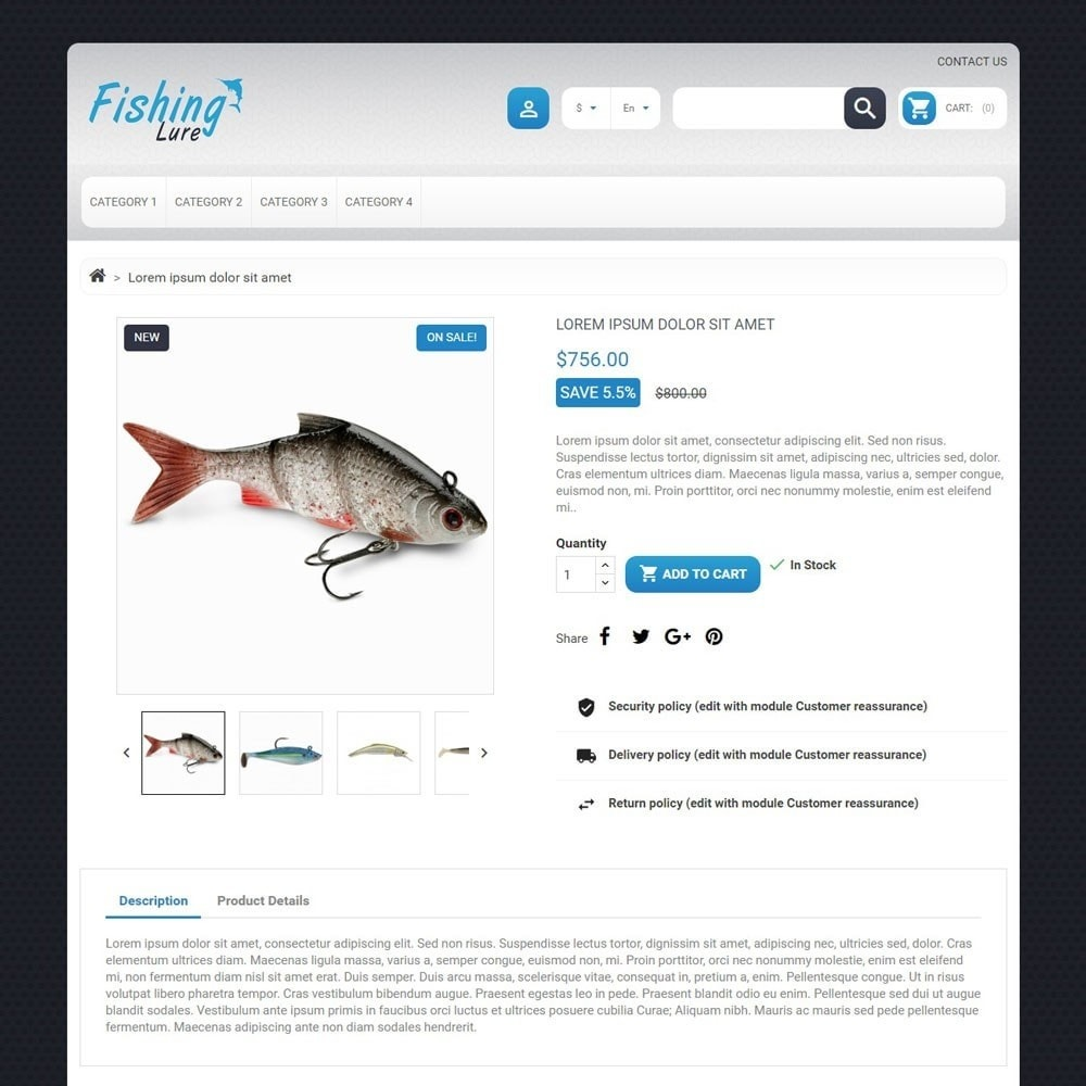 theme - Animals & Pets - FishingLure - 3