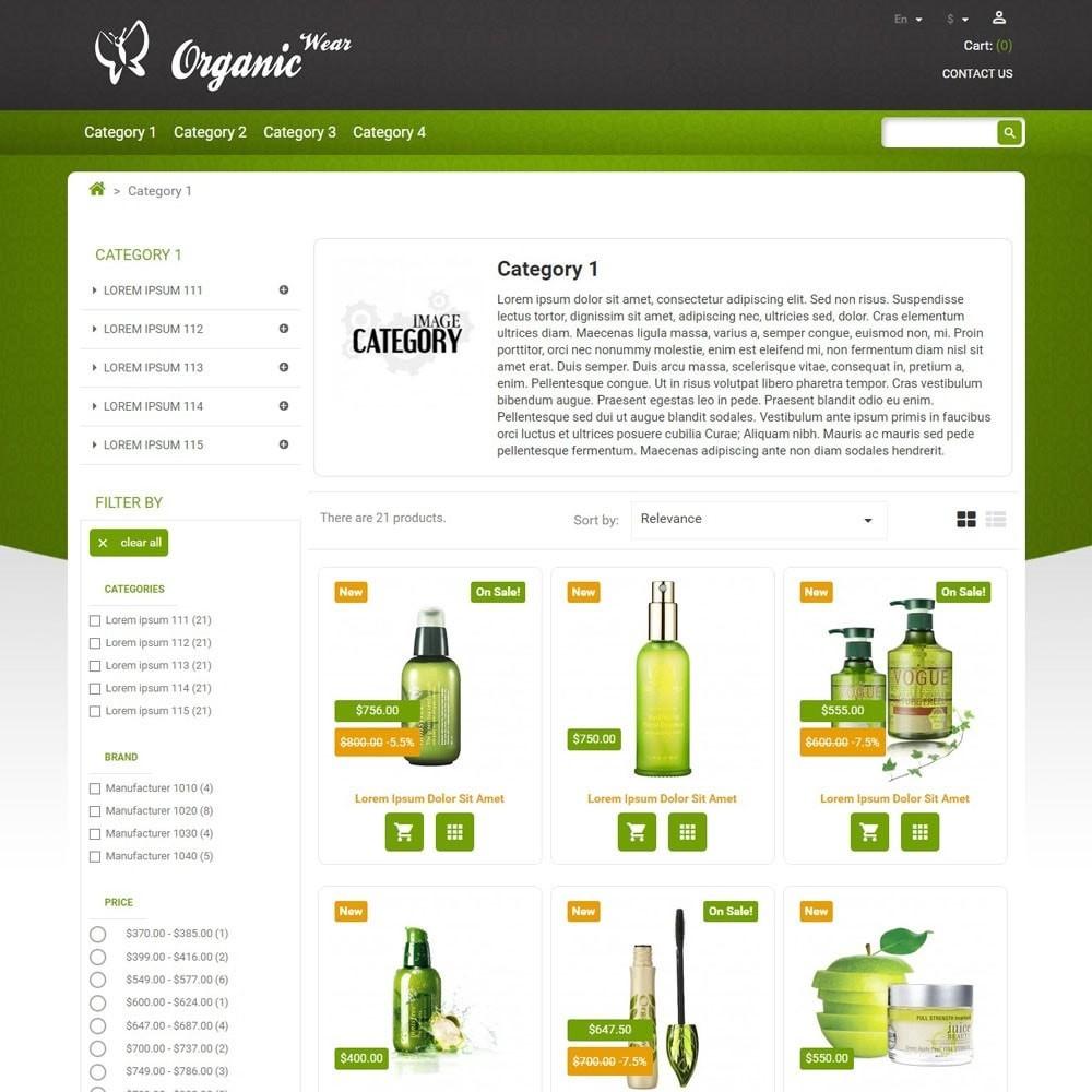 theme - Saúde & Beleza - OrganicWear - 1