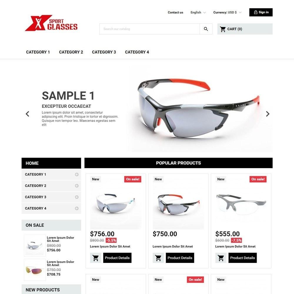 theme - Sports, Activities & Travel - SportGlasses - 1