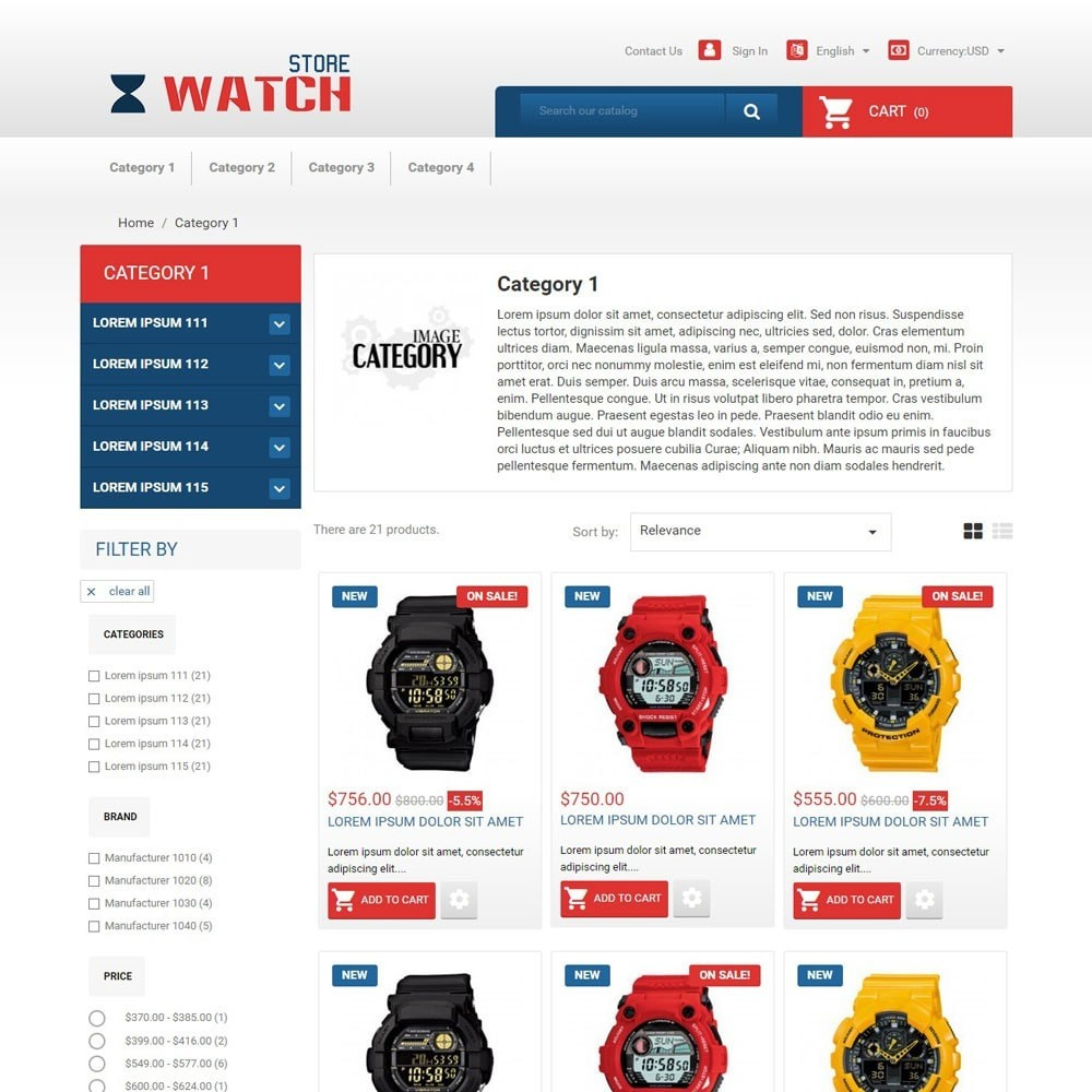 theme - Electronique & High Tech - WatchStore - 2