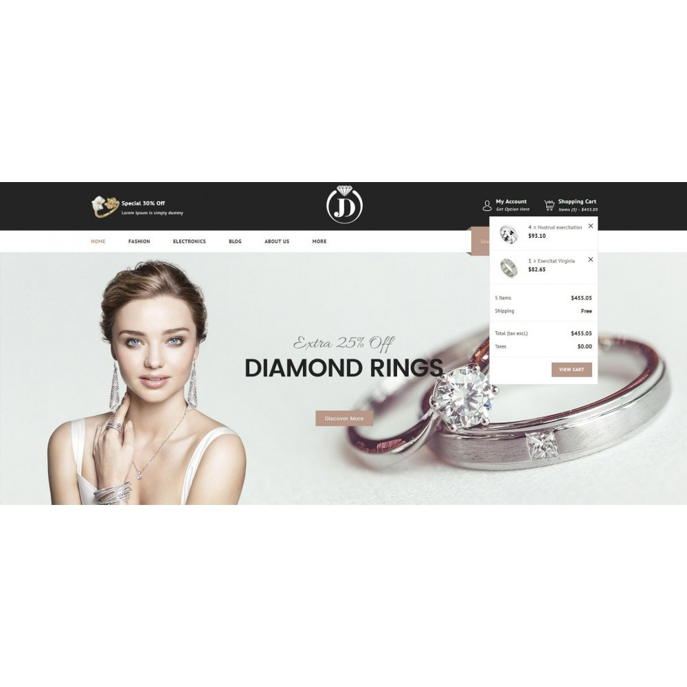theme - Jewelry & Accessories - JD - Diamond Jewelry Store - 6